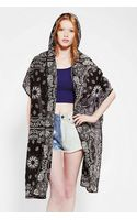 Urban Outfitters Love Alchemy Bandana Hooded Scarf - Lyst