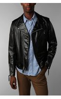 Urban Outfitters Moto Leather Jacket - Lyst