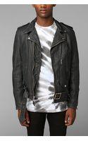 Urban Outfitters Schott Beatdown Moto Leather Jacket - Lyst