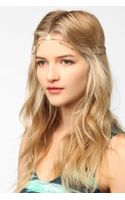 Urban Outfitters Geo Metal Goddess Chain Headwrap - Lyst