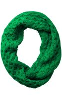 Michael Kors Waffle Knit Infinity Scarf - Lyst