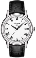 Tissot Mens Carson Watch with Leather Strap - Lyst