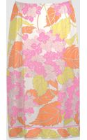 Emilio Pucci Knee Length Skirt - Lyst