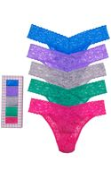 Hanky Panky Thong Holiday 5 Pack Original Rise - Lyst