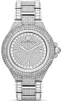 Michael Kors Midsize Camille Chronograph Glitz Watch 43mm - Lyst