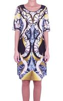 Peter Pilotto Thalia Silk Dress - Lyst
