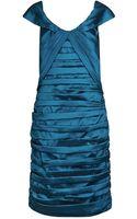 Alexon Taffeta Bardot Dress - Lyst