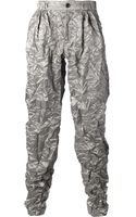 Bernhard Willhelm Crinkled Trouser - Lyst