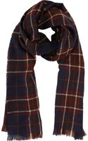 Drake's Oversized Plaid Scarf - Lyst