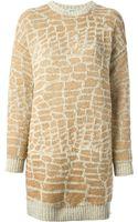 Kenzo Sweater Dress - Lyst