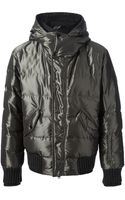 Dolce & Gabbana Padded Funnel Neck Jacket - Lyst
