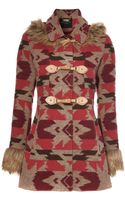 Jane Norman Navajo Duffle Coat - Lyst