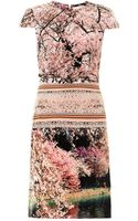 Mary Katrantzou Silver Lake-print Dress - Lyst
