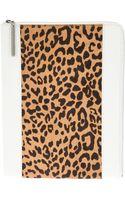 3.1 Phillip Lim Leopard Print Ipad Sleeve - Lyst