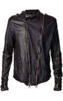 Giorgio Brato Leather Jacket - Lyst