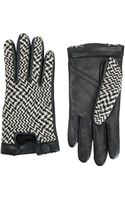 Rag & Bone Beacon Glove Blackwhite - Lyst