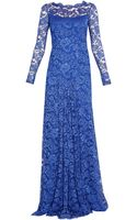 Temperley London Long Cleo Lace Dress - Lyst