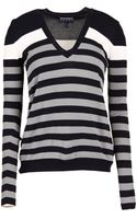 Emporio Armani Long Sleeve Sweater - Lyst