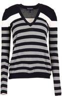 Emporio Armani Long Sleeve Sweater - Lyst