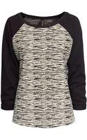 H&M Sweatshirt Top - Lyst
