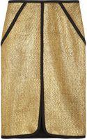Jonathan Simkhai Metallic Bouclé Pencil Skirt - Lyst