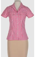 Paul & Joe Short Sleeve Shirt - Lyst