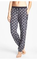 Kensie Chilled Out Fleece Ski Pajama Pants - Lyst