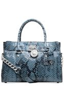Michael Kors Hamilton East West Satchel - Lyst