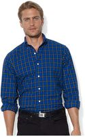 Polo Ralph Lauren Classicfit Plaid Brushed Oxford Shirt - Lyst
