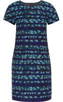 J.Crew Collection Jacquard Mini Dress - Lyst