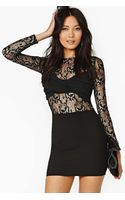 Nasty Gal Night Wrap Lace Dress - Lyst