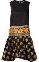Suno Paisley Print Dress - Lyst