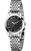 Gucci Gtimeless Collection Stainless Steel Watch Grey - Lyst