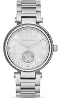 Michael Kors Midsize Skylar Subeye Glitz Watch 415mm - Lyst