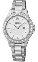Seiko Stainless Steel Bracelet Watch 31mm - Lyst