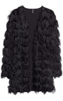 H&M Cardigan with Fringes - Lyst