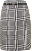 Samya Textured Hounds Tooth Pencil Skirt - Lyst