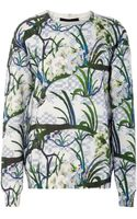 Timo Weiland Vine Print May Sweatshirt - Lyst