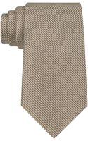 Calvin Klein Silk Birdseye Tie - Lyst