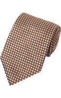 Giorgio Armani Twotone Dots Tie - Lyst