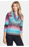 Kensie Ombré Space Dye Sweater - Lyst