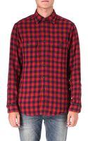 Ralph Lauren Checked Cotton Work Shirt - Lyst
