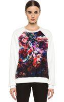 MSGM Organza Sweater - Lyst