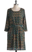 ModCloth Be My Guest Dress - Lyst