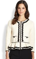 RED Valentino Peplum Jacket - Lyst