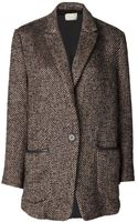 Giada Forte Single Button Jacket - Lyst