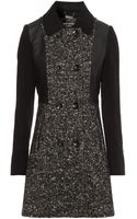 Jane Norman Fit and Flare Coat - Lyst
