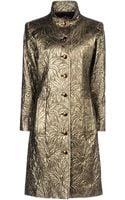 Yves Saint Laurent Rive Gauche Full Length Jacket - Lyst