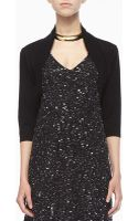 Eileen Fisher Merino Wool Jersey Shrug - Lyst