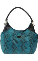 Just Cavalli Large Fabric Bag - Lyst